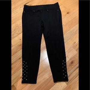 Black Thalia Sodi Studded Pants